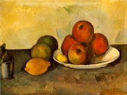 Cezanne's apples